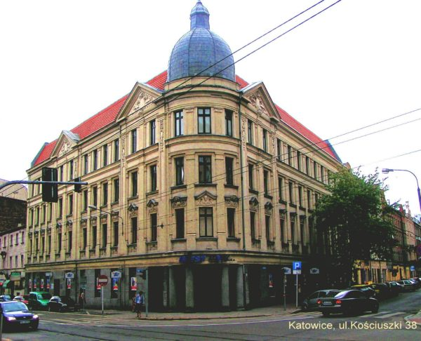 Katowice, ul. Kościuszki 38